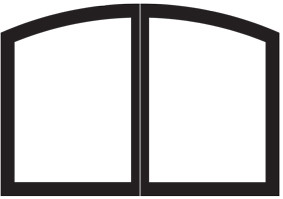 White Mountain Hearth - Decorative Arch