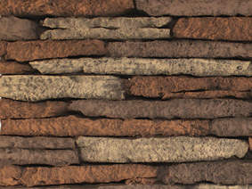 White Mountain Hearth - Liner - Stacked Limestone