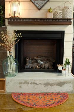 Select Firebox w/ Super Sassafras Logs