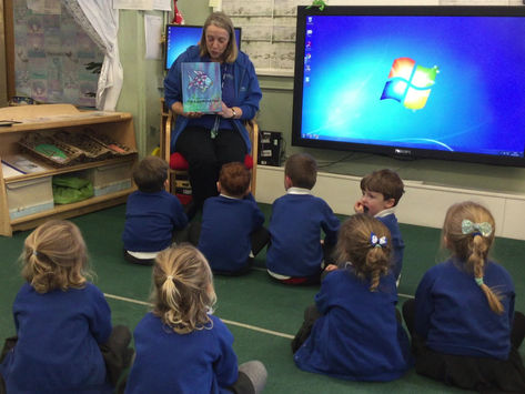 Rainbow Fish with Miss Taylor