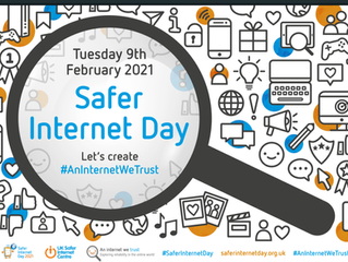 Tuesday 9th February- Internet Safety day!