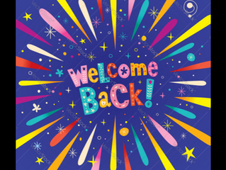 Welcome back Reception!