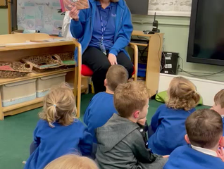 Story Time with Miss Taylor - Reception