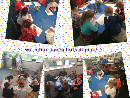 Party Time in Reception!