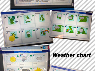 Weather charts - Reception