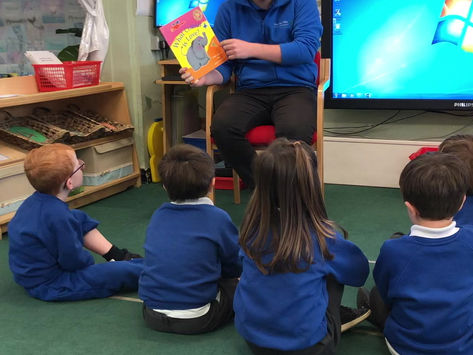 Story time with Mr Penn