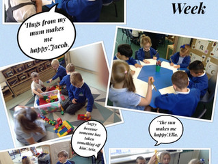Reception Learning About Mental Health & 'Take Care for Bobby' Campaign.
