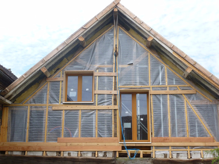 Pendant la rénovation, création de fenêtres