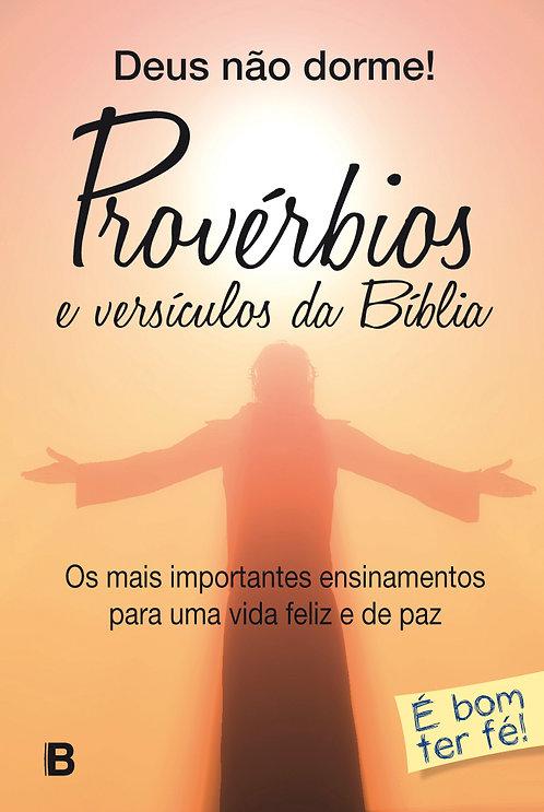 Deus não dorme - Provérbios e versículos da Bíblia