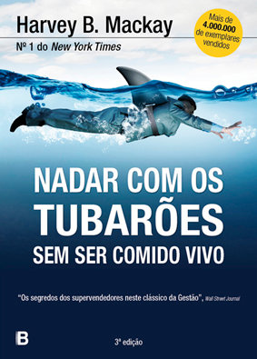 Nadar com os tubarões sem ser comido vivo