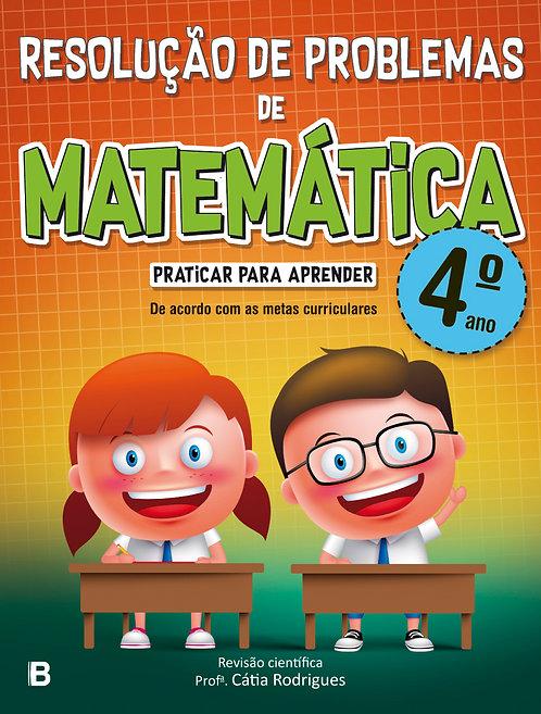 Resolução de problemas de matemática - 4º ano