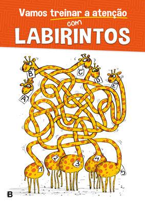 Vamos treinar a atenção - Labirintos