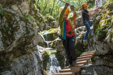 Adventure park Srnica Bovec Slovenia fot