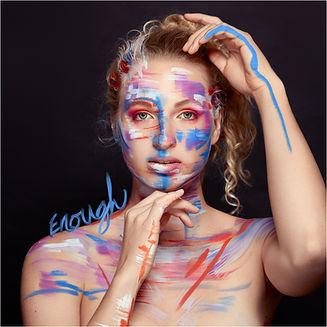 enough single cover art for signe singer/songwriter