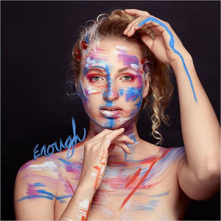 enough single cover art for singer songwriter signe