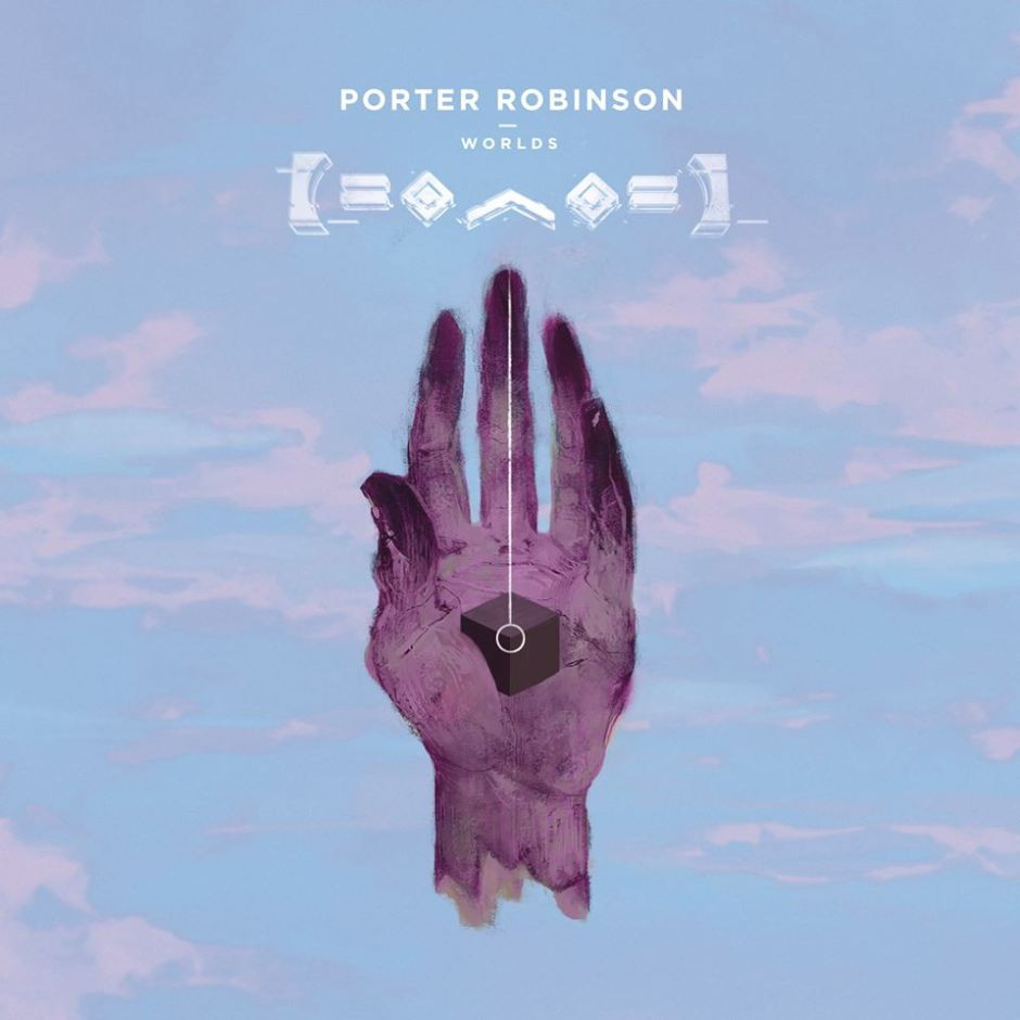 Album cover to Worlds by Porter Robinson