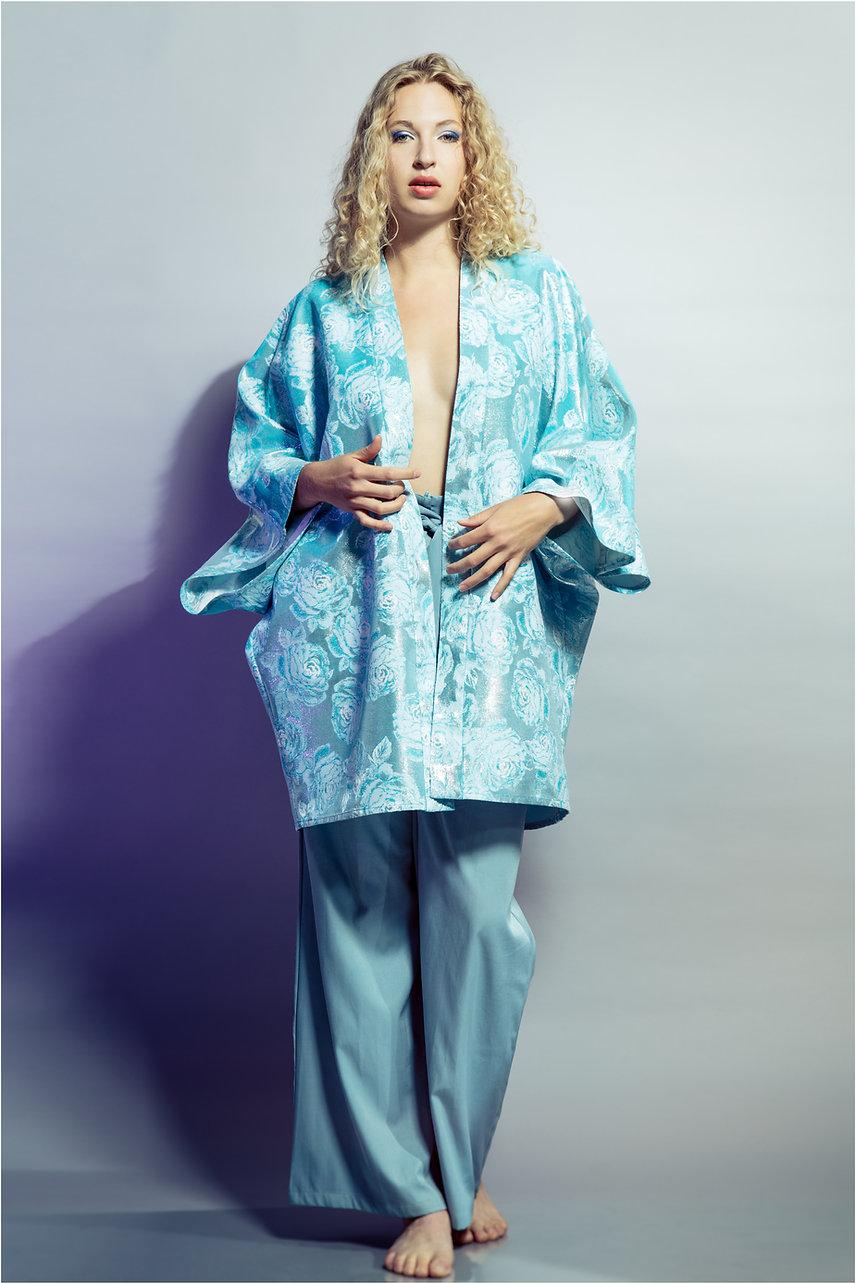singer songwriter signe models fashion designer Alex Rotin's collection
