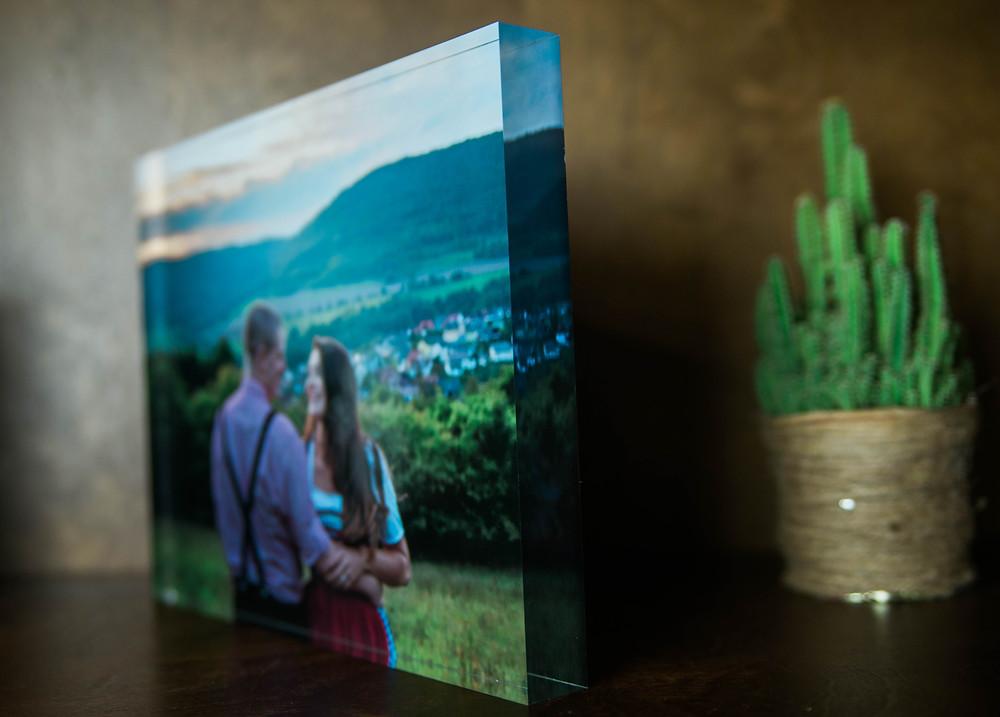 Acrylic Block - San Antonio Portraits
