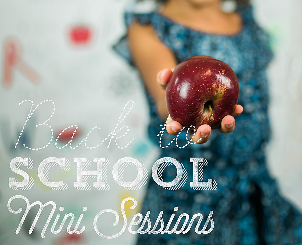 Come join us for a mini session to capture your kiddos before they go back to school.