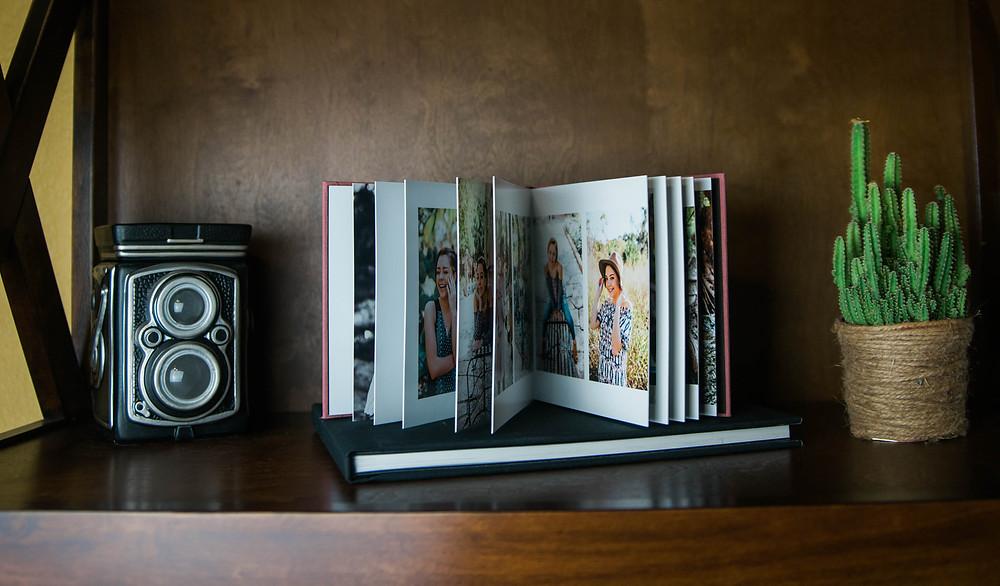 Linen Lay Flat Albums - San Antonio Portraits