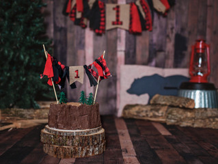 Lumberjack Jaxon is 1!