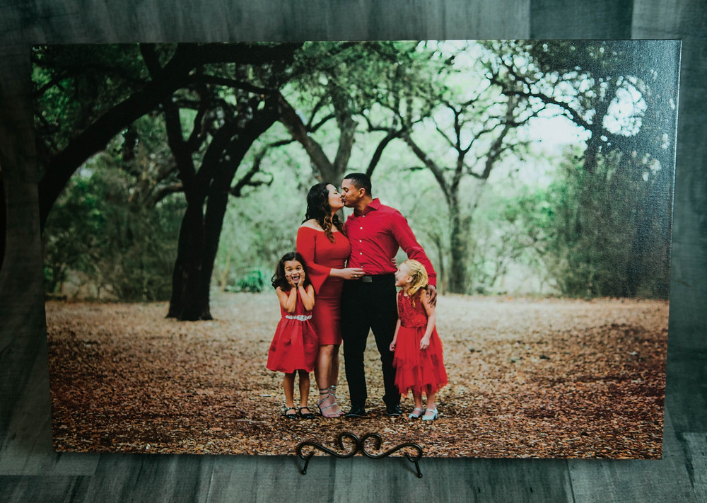 Premium Canvas Wrap - San Antonio Portraits