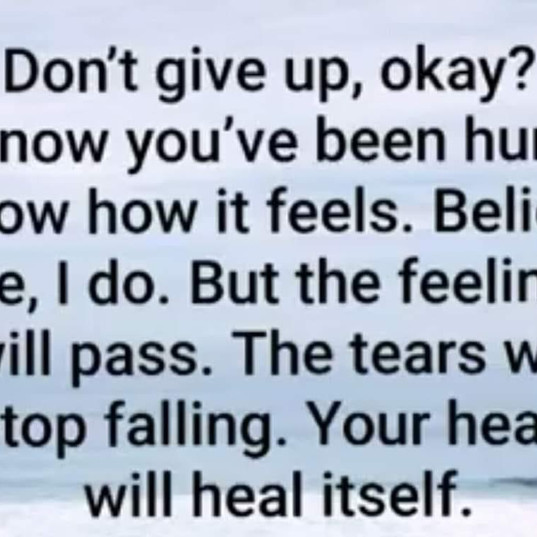 Dont Give Up...