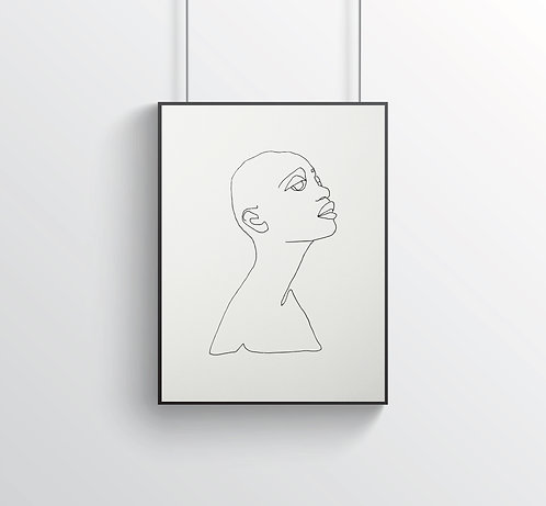 """Poster """"Le Beau No.1"""""""