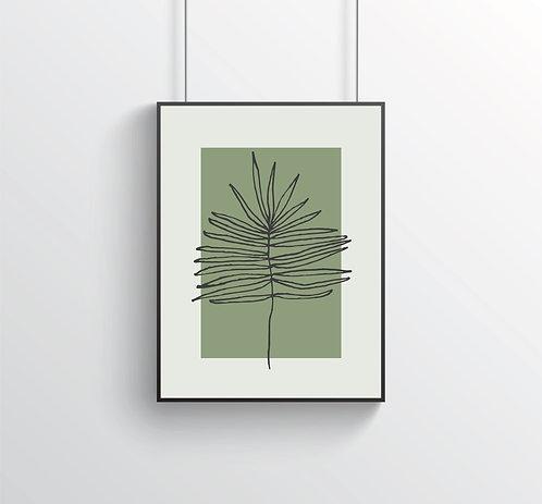 """Poster """"Flora No. I"""""""