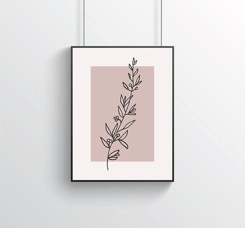 "Poster ""Flora No. 4"""