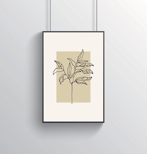"Poster ""Flora No. 3"""