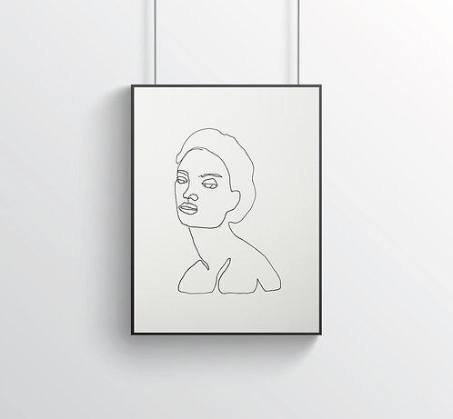 """Poster """"Le Beau No.4"""""""
