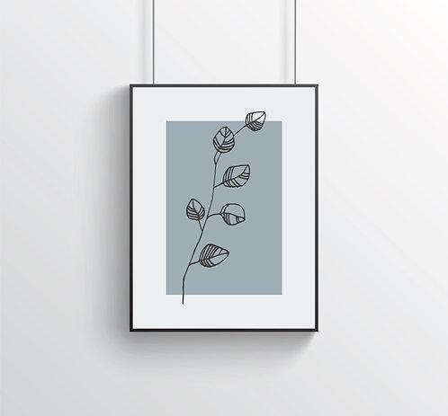 "Poster ""Flora No. 2"""