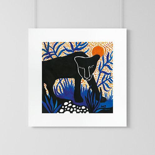 "Poster ""Panther"""
