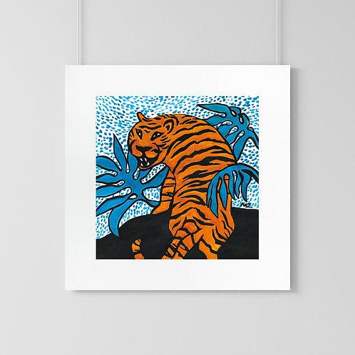 "Poster ""Tiger"""