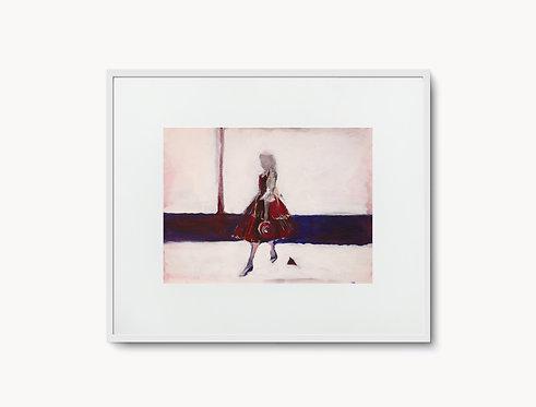 """Poster """"Petite Mademoiselle"""""""