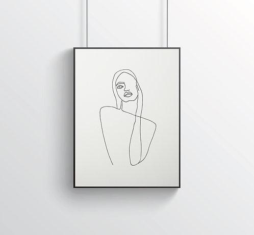 """Poster """"Le Beau No.2"""""""