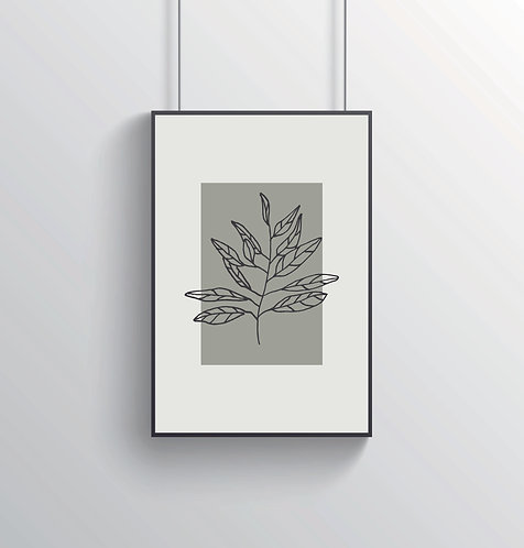 "Poster ""Flora No. 5"""