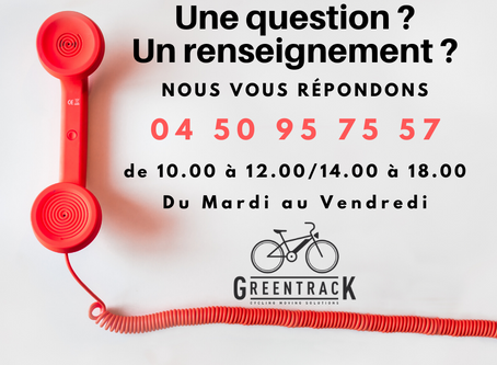 ASSISTANCE TELEPHONIQUE GREENTRACK