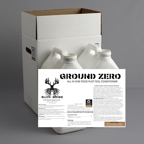 Ground Zero   All in one Food Plot Treatment