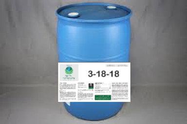 3-18-18 Ortho-Phosphate Liquid Fertilizer