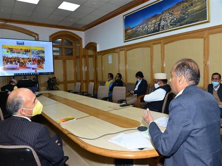 मुख्यमंत्री ने चलो चम्बा अभियान-2021 का शुभारम्भ किया