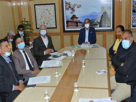 मुख्यमंत्री ने पर्यटन परियोजनाओं के कार्य निर्धारित समयावधि में पूरे करने के निर्देश दिए
