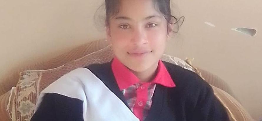 छोगटाली की छात्रा दीक्षा ने एनएमएमएस स्कॉलरशिप में जिला सिरमौर में हासिल किया पहला स्थान