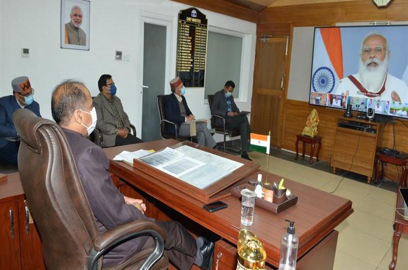 पुरस्कृत पंचायतों को प्रधानमंत्री ने दी बधाई
