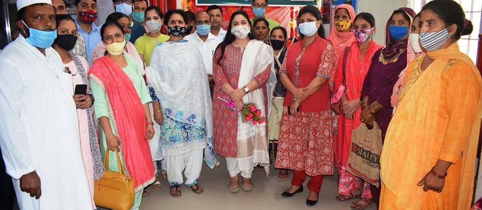 सिरमौर में महिला शक्ति केंद्र का हुआ शुभारंभ