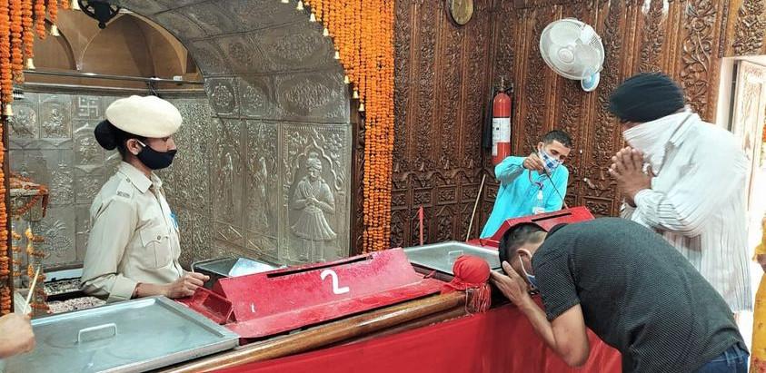 नवरात्रों के दौरान त्रिलोकपुर में कुल 24100 श्रद्धालुओं ने किए माता बाला सुन्दरी के दर्शन