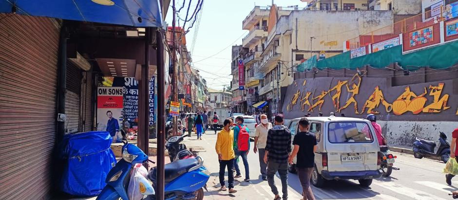 सोलन माल रोड पर प्रातः 08.00 से 11.00 बजे तक वाहनों की आवाजाही पर रोक