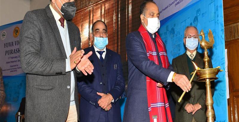 युवा विज्ञान पुरस्कार योजना के अंतर्गत 46 विद्यार्थियों को पुरस्कृत कियाः मुख्यमंत्री