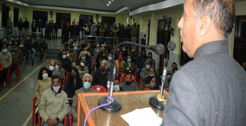 लोगों की मांग पर पालमपुर शहर को नगर निगम में स्तरोन्नत कियाः मुख्यमंत्री